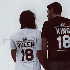 King and Queen with custom numbers? Match your inner royalty with these Epic Tees! Get yours now!