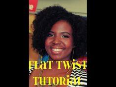 ▶ Natural Hair Tutorial | Bouncy  Voluminous Twistout Tutorial - YouTube