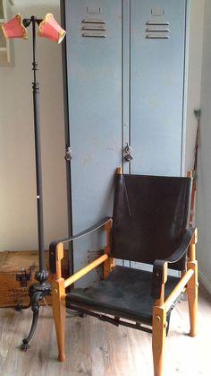 Original Safari Chair Stuhl Designer Wilhelm Kienzle 1928/1950