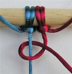 learn how to make macrame knots
