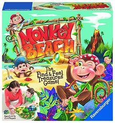 Monkey Beach Preschool Game Ravensburger