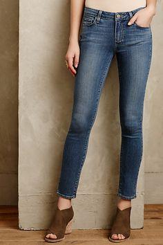 Crazy soft - Paige Verdugo Skinny Ankle Jeans #anthropologie