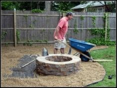 5 Eye-Opening Ideas: Fire Pit Backyard Built In large fire pit cinder blocks.Fire Pit Backyard Back Yards fire pit backyard cooking.Fire Pit Backyard Back Yards. How To Build A Fire Pit, Diy Fire Pit, Fire Pit Backyard, Ana White, Fire Pit Gallery, Fire Pit Essentials, Camping Essentials, Fire Pit Materials, Fire Pit Ring
