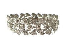 Art Deco Vintage Bracelet Art Deco Jewelry Pot Metal 1920s