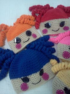 McMaven Haven: Crochet Lalaloopsy Hats!
