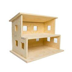 Wood Dollhouse Kids Toy by LittleSaplingToys on Etsy