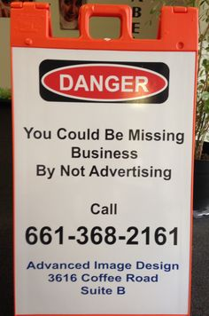 Advertising A-Frame Signs