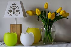 We wish you happy Easter! Take a look at our egg lanterns!
