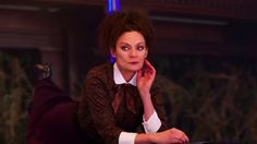 Doctor Who fans arent the only ones talking about the new series trailer: The Master herself has a few thoughts about the upcoming season. Accompanied by a disembodied Cyberman head Missy sits down [] The post Missy Reacts to New Doctor Who Season 10 Trailer appeared first on Geek.com.