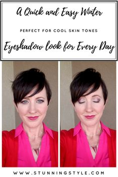 This step-by-step winter eye makeup look is simple enough to do in 5 minutes or less. It goes perfect with bold or neutral lip colors. I used the Urban Decay Full Spectrum palette for and easy everyday look. I especially love to wear it with bold red, pink, purple and burgundy. Come see how easy it is to get this look!