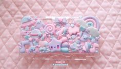 Lila Galaxie case Nintendo DSLite / 3DS / 3DS von CialiKawaiiland