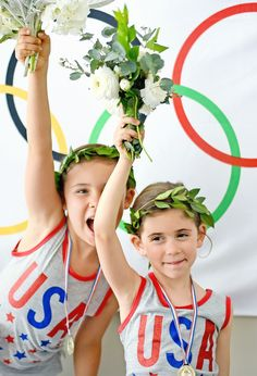 Olympics-Themed Kids