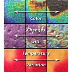 """...Watercolors™ is a unique Moving Color® line closely resembling the luminous quality of water color. The tiles shift from a base coat of color to colorless when exposed to heat. These 4 x 4 glass tiles are currently available in 8 colors. The color change is """"reversible,"""" i.e., the original color will be restored upon cooling...(dead product link)"""