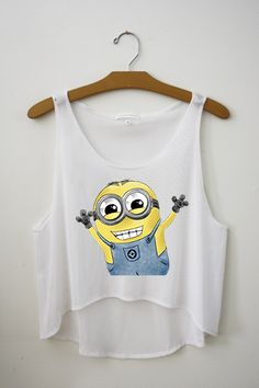 Minion Crop Top – Hipster Tops