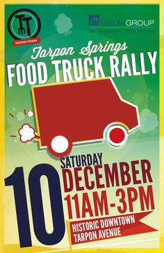 Food Trucks posters | ... Food Truck Rally 12/3! First Tarpon Springs Food Truck Rally 12/10