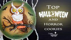 COOKIE CONNECTION ALERT: Top Halloween and Horror Cookies of the week. Owl…