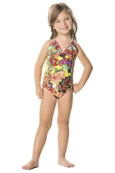 Agua Bendita Peras One Piece is one of the cutest swimsuits to come out this season. #onepieceswimwear #kidsonepiece #designerbikini