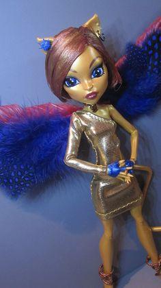 Carmena Thebes - Custom Monster High - Toralei