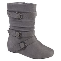 Girl's Hailey Jeans Co. Buckle Suede Boots -