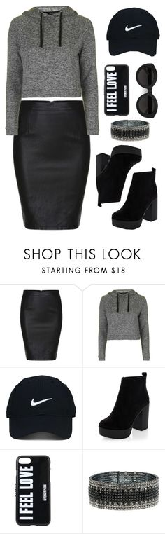 """I Feel Love"" by destined-to-shine ❤ liked on Polyvore featuring Topshop, Nike Golf, New Look, Carla Zampatti, Givenchy and Anne Klein"