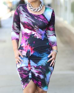 DIY Dress + Pattern Review Burda 6729 - Mimi G Style