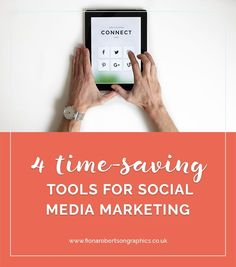 Social media can be a really effective way to promote your business. And it can be a total time-suck too. But with these time-saving tools for social media marketing, you can save time and still promote your business.