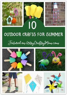 Don't waste the summer wondering what to do? Check out our ultimate list of 100 summer activities for kids, including crafts, printables and more! Craft Projects For Kids, Crafts For Kids To Make, Kids Crafts, Craft Ideas, Zoo Crafts, Play Ideas, Fun Ideas, Kids Learning Activities, Summer Activities For Kids
