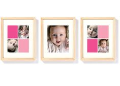 Pinhole Press - Framed Color Collage Trio $109.99