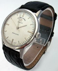 Great retro watch from Favre-Leuba. I so love silver-toned jewelry, anyhow.