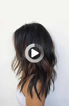 Discover the sexiest black hair with highlights ideas that will have you running to the salon in no time. Brunette Hair Color With Highlights, Summer Hair Color For Brunettes, Hair Color For Black Hair, Hair Highlights, Dark Hair, Partial Balayage, Fall Hair Colors, Good Hair Day, Balayage Hair