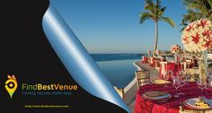 Get your hands on the Best Venues for an exotic getaway only on find best venue. #findbestvenue #Weddings #Parties