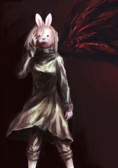 Rabbit / Touka ||| Tokyo Ghoul Fan Art