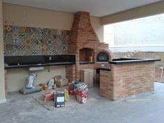 Churrasqueira e deck Decor, House, House Plans, Home Decor, Kitchen, Areas