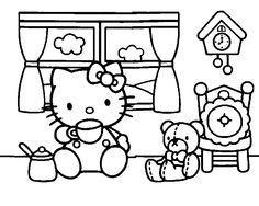 20 Mandalas de Hello Kitty para Colorear   Mandalas para colorear