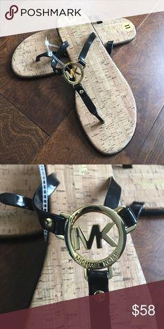 Michael kors black sandals Sz 11 Brand new pair of sandals missing box. Price firm . Michael Kors Shoes Sandals