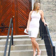 Enchant the room in this stunning dress 🎀 #weddingseason #weddingstyle #style #stylish #instafashion #igfashion #trendy #stylegram #trends #fashion #fashionista #outfit #ootd #love #wiw #fashionblogger #springfashion #wiwt #blogger #amazing #gorgeous #detail #potd  #obsessed #stunning #styleblogger #pink #dress Pink Dress, White Dress, Stunning Dresses, Wedding Season, Amazing Women, Wedding Styles, Spring Fashion, Ootd, Trends