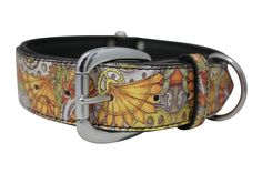 The Paws Mahal - Jessica Fang Dragon Punk Inked Leather Dog Collar, $65.99 (http://www.thepawsmahal.com/jessica-fang-dragon-punk-inked-leather-dog-collar/)
