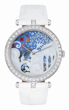 Van Cleef & Arpels Les Jardins Watch Series