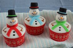 Met deze duidelijke how to is het eenvoudig om zelf sneeuwpop cupcakes te maken. Deze uitleg is voorzien van duidelijke stap voor stap foto's die je helpen.