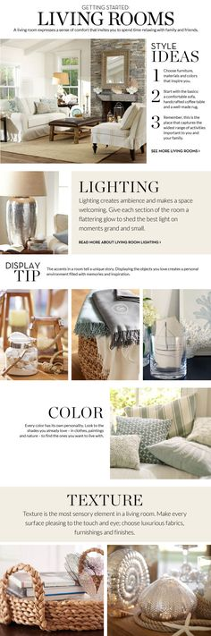 Living Room Inspiration & How to Decorate Living Room | Pottery Barn