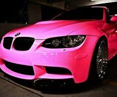 <3 Pretty Pink Car <3