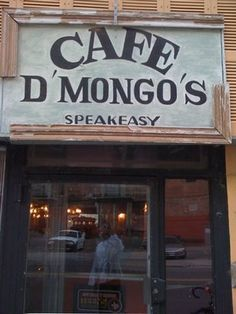 Cafe D'Mongo's Speakeasy on Griswold in Detroit. One of the longest standing Speakeasies in Detroit.