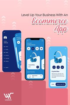 Attract more customers and build customer loyalty by launching an ecommerce application for your business. Strategically scale your business and grow it by introducing an application. While shopping from mobile, customers prefer to shop from app. Hence, get your app developed.😊 Ecommerce App, Ecommerce Solutions, Level Up, Product Launch, Ads, Loyalty, Business, Scale, Shopping