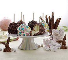 Selmas easter bunnies and eggs gift set easter egg and rice negle Image collections