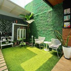 35 Nice Minimalist Backyard Landscaping Design Ideas You Will Love - You have decided that it's high time you did something for your backyard. For many years now, it has been bare, save for a few of your kids' toys and . Front Yard Garden Design, Home Garden Design, Backyard Garden Design, Home Room Design, Backyard Landscaping, Home And Garden, House Design, Minimalist Garden, Small Backyard Gardens