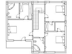 case cu etaj decorate cu lemn