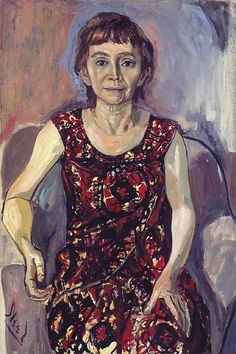 "Alice Neel | Alice Neel, ""Rachel Zurer,"" (1961-62), oil on canvas"