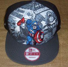 Daredevil Cap Superhero Snapback Rapper Hat Marvel Comics Embroidered Cap
