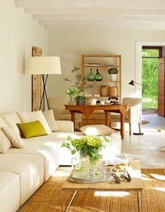 Interior Living Room Design Trends for 2019 - Interior Design New Living Room, Home And Living, Living Room Decor, Living Spaces, Family Room Design, Style At Home, Cozy House, Living Room Designs, Sweet Home
