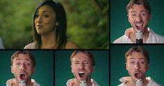 Casal canta várias músicas da Disney sem precisar de nenhum instrumento